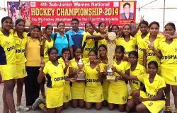 Hockey Gangpur-Odisha team