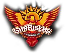 IPL team Sun Risers Hyderabad.