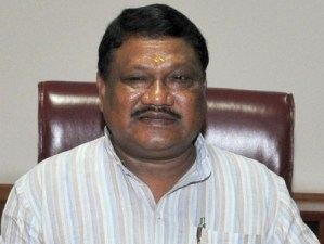Shri Jual Oram taking charge as the Union Minister for Tribal Affairs, in New Delhi on May 27, 2014.
