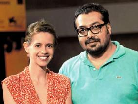 Anurag with former wife Kalki
