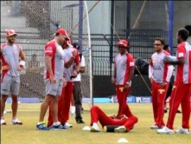 Kings XI Punjab practice