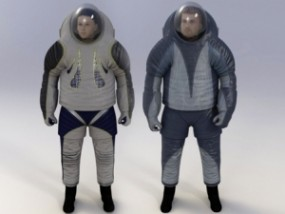 Nasa Z-2 Space Suits