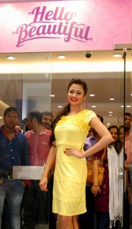 Ollywood Actress  Archita at the launch of  Hello Beautiful