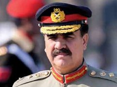 Pak Army chief Gen. Raheel Sharif