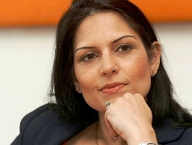 Priti Patel ( source:eadt.co.uk)