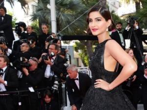 Sonam Kapoor at Cannes  ©Getty Images for L'Oréal Paris.