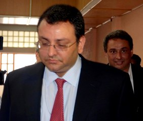 Cyrus Mistry, Chairman Tata Group at the State Secretariat
