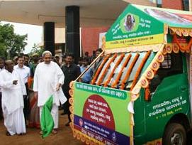 CM flagging off Nidhi Mausa campaign against Malaria on Aug 1, 2013