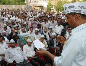 arvind kejriwal in Varanasi 1 - PTI_0