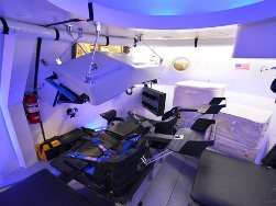 Interior of Boeing CST-100 ( courtesy space.com)