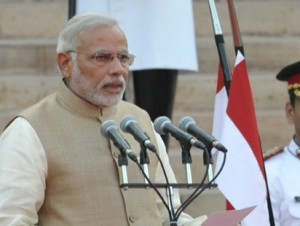 Modi sworn-in