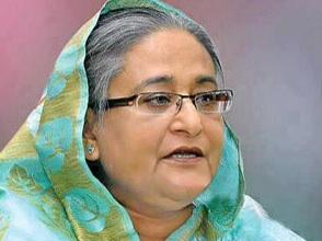 Sheikh Hasina, PM, Bangladesh (Courtesy-newsgardenbd.com)