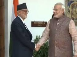 modi with koirala