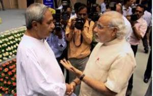 """""""Kya Chahiye Batao?"""" Modi seems to be asking Naveen"""