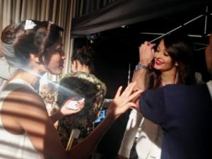 Aishwarya Rai and Freida Pinto  ©Getty Images for L'Oréal Paris.