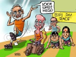 (Cartoon by Satish Acharya in namovsrahul.in )