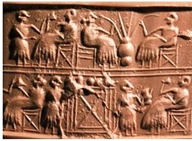Sumerian tablet ( source : exorientelux.be)