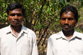 Two Munda men from Jamunagarh village have launched a desperate appeal to remain on their land inside Similipal Tiger Reserve. (Pic : Survival International)