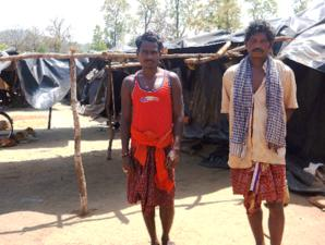 The Khadia were evicted from their homeland inside Similipal Tiger Reserve in December 2013. They are now living in dire conditions under plastic sheets and have not received the compensation they were promised. (Pic : Survival International)