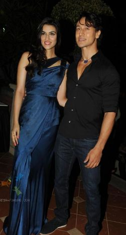Kriti Sanon and Tiger Shroff at charity fashion show 'Ramp for Champs'