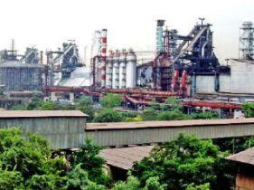 File pic of Bhilai Steel Plant
