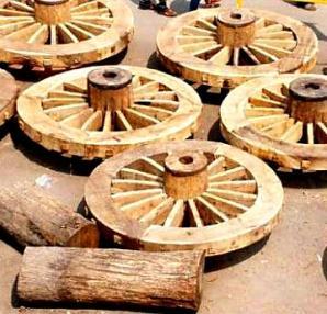 Chariot wheels