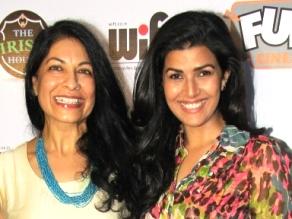 Director Nisha Pahuja(L) and Nimrat Kaur at premiere of The World Before Her (IANS)