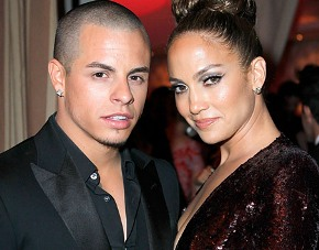 Jennifer with ex-boyfriend Casper Smart