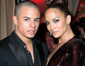 Jennifer with ex-boyfriend Casper Smart