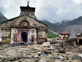 Kedarnath Temple ( source : PTI )