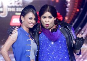 Kiku in Kapil's Comedy Nights
