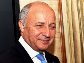 French Foreign Minister of France Laurent Fabius