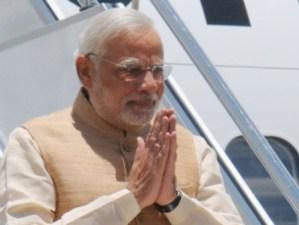The Prime Minister, Shri Narendra Modi arrives at Paro International Airport, in Bhutan on June 15, 2014.