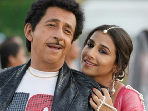 Naseer with Vidya in 'Dirty Picture'