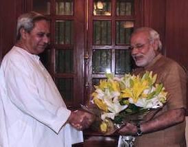 Naveen meets Modi