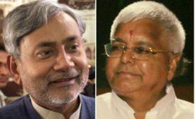 Nitish Kumar-Lalu Yadav