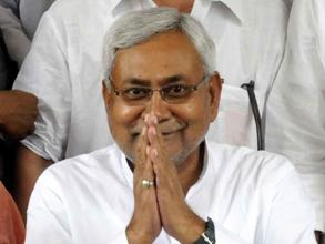 Former Bihar Chief Minister and JD-U leader Nitish Kumar arrives to attend the Monsoon Session of Bihar Legislative Council in Patna on June 30, 2014. (Photo: IANS)