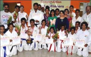 Odisha Karate team