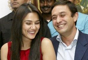 Preity Zinta with Ness Wadia
