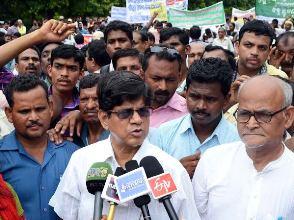 SRP Rabi Das Chit Fund Protest