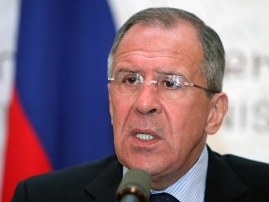 Sergey Lavrov, Russian Foreign Minister