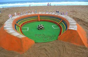 Sudarsan Patnaik Sand Art