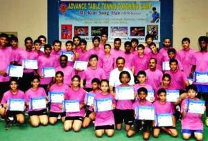 TT coaching camp