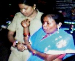 Ullas Behera being taken to hospital