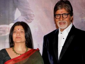 Amitabh with Sarika