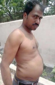 Ramesh Sahu, the victim (Pic By: Biswaranjan Mishra)