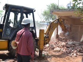demolition by BDA