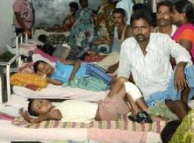 Children affected by encephalitis in a Bihar hospital ( source : the hindu.com)