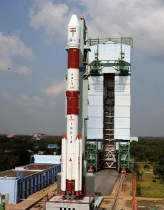 Polar Satellite Launch Vehicle (file pic)