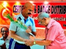 Referees honoured
